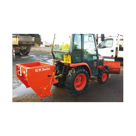 Drop Salt Spreader - 30hp Tractor Mounted - 400L Heavy Duty PTO Driven