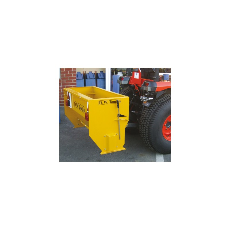 Drop Salt Spreader - 18hp Tractor Mounted - 148L Heavy Duty PTO Driven