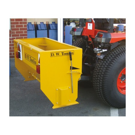 Drop Salt Spreader - 24hp Tractor Mounted - 185L Heavy Duty PTO Driven