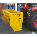 Drop Salt Spreader - 30hp Tractor Mounted - 310L Heavy Duty PTO Driven