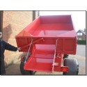 1.25 Ton Trailer - 1.83m x 1.22m - 16hp - Rear Tip