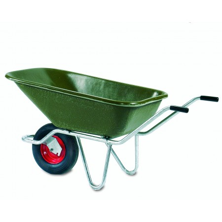 Wheel Barrow with Galvanised Underframe