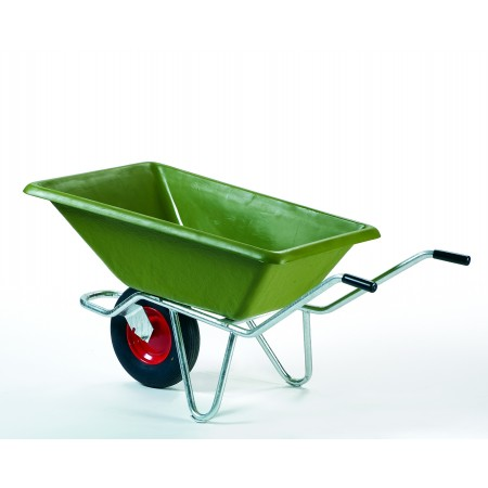 200L Wheel Barrow with Galvanised Underframe