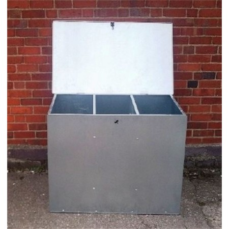 Flat Pack Galvanised Feed Bin- 3 size options