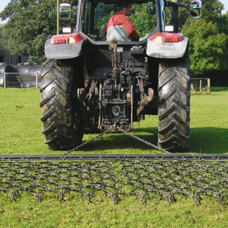 10' Chain Harrow - Double Depth Mat