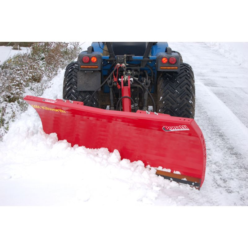 1.25m Snow Blade - 3pt linkage and Hydraulic included