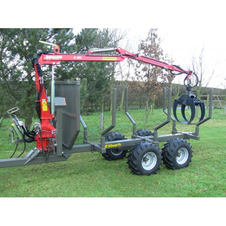 3.0T Log Forwarding Trailer with Crane