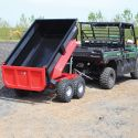 Dump Trailer with Electric Hydraulic Power Pack - 800L