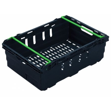 Heavy Duty Ventilated Supermarket Crate - 35L