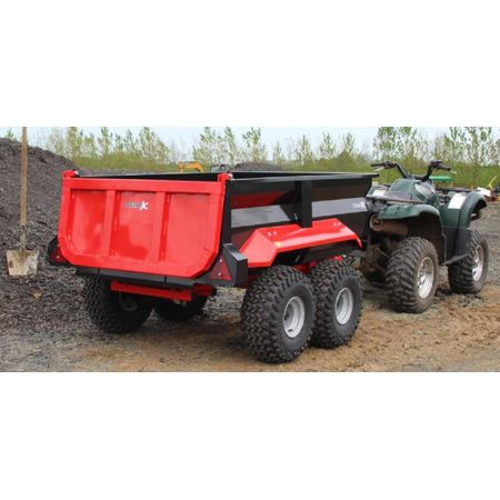 Dump Trailer with Electric Hydraulic Power Pack - 750L