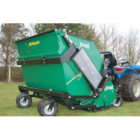 Sovema TRIS Flail/Scarifier with collection