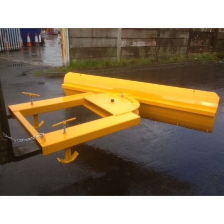 Fixed or Adjustable 1.5m - 2m Forklift Snow Plough