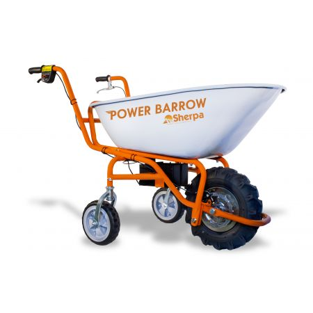 Motorised Cordless Electric Wheel Barrow