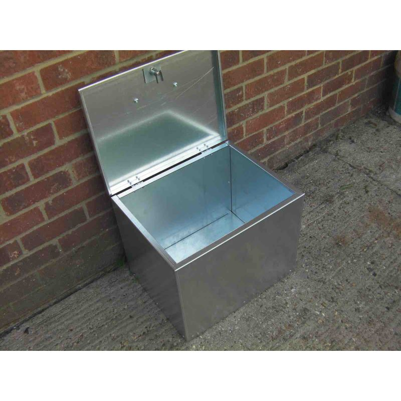 Heavy Duty 1 Compartment Galvanised Feed Bin