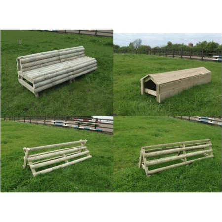 Set of 4 Cross Country Fences