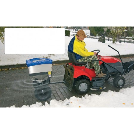 Ride-on Mower Trailed Salt/Grit Spreader Attachment