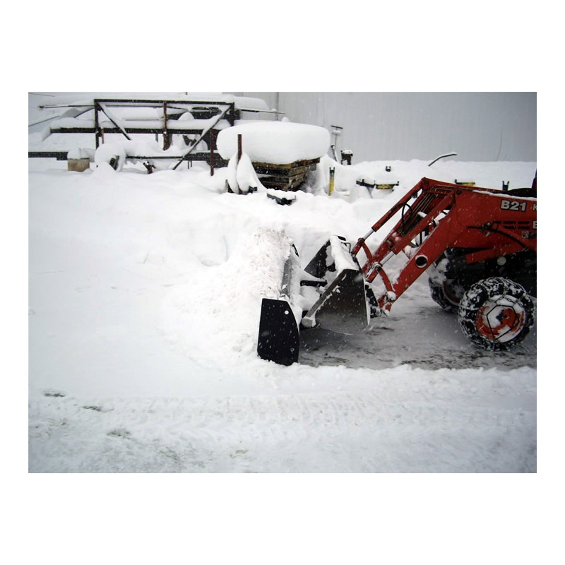 1500mm Snow Blade for Loading Bucket - Unpainted