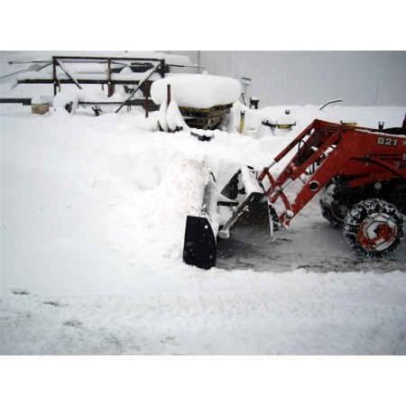 Snow Blade pour chargement Bucket 6 pieds large