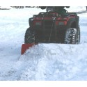 1.2m Snow Plough /Snow Blade with Basic Mount with Manual Lift System