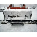2500mm Snow Blade for Loading Bucket - Unpainted
