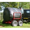 Bale Transporter with Manual Lift System - 2 Straps Included