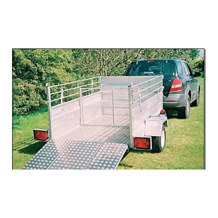 Route juridique Stock Trailer (7 ft x 4 ft 6 in)