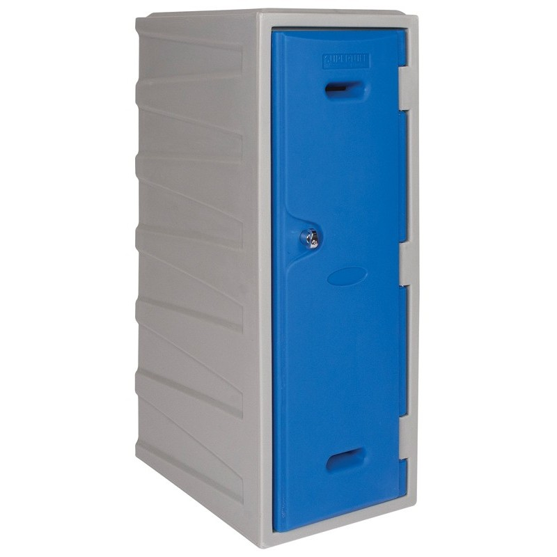 Large Plastic Locker with Key operated Lock