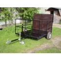 Bin trailer 1400mm long x 1100mm wide