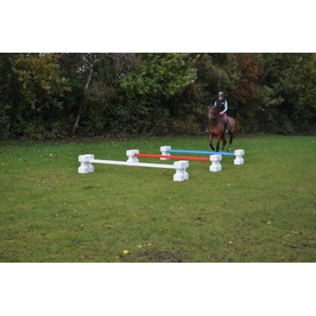 Set of 10 Cavaletties with Square Poles